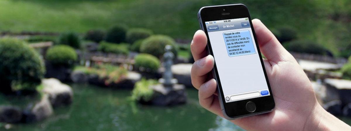 Rappel des rendez-vous par SMS